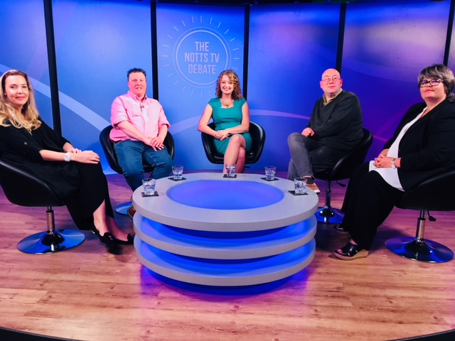 Notts TV Debate Show with Frances Finn