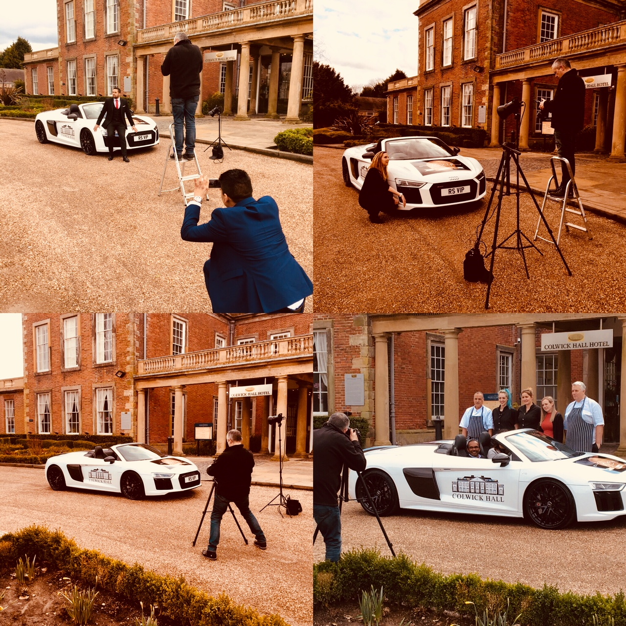RSViP photo-shoot in collaboration with Audi Nottingham & Colwick Hall