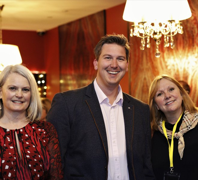 Jane Morrell, Andrew Marshall & Jan Marriott